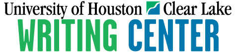 UH-Clear Lake Writing Center Logo